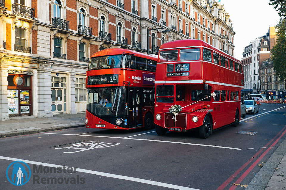 London - double deckers