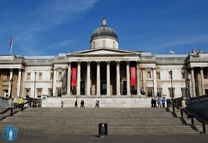 National Gallery in Trafalgar Square